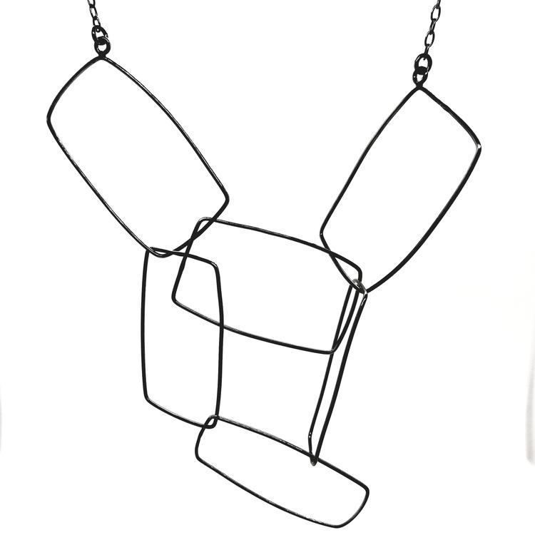 Designsmycke Rectangle