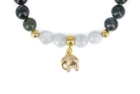 Elephant green & blue