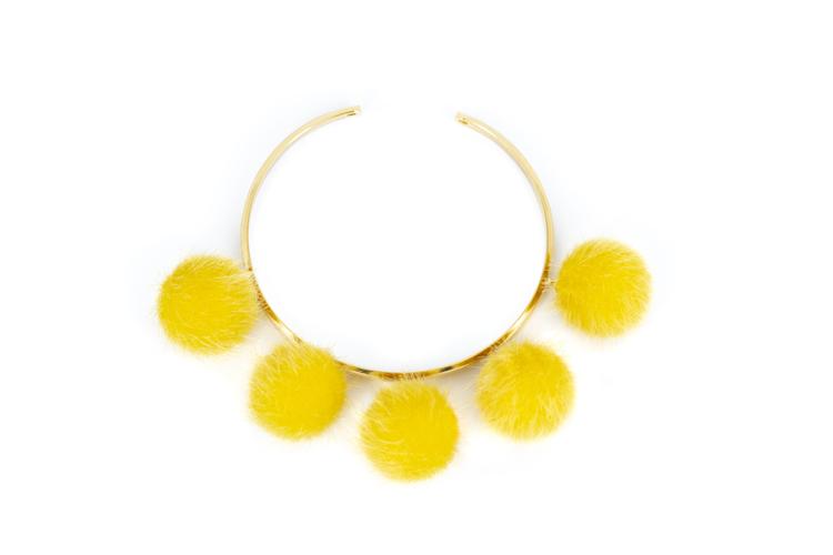 Pompom yellow