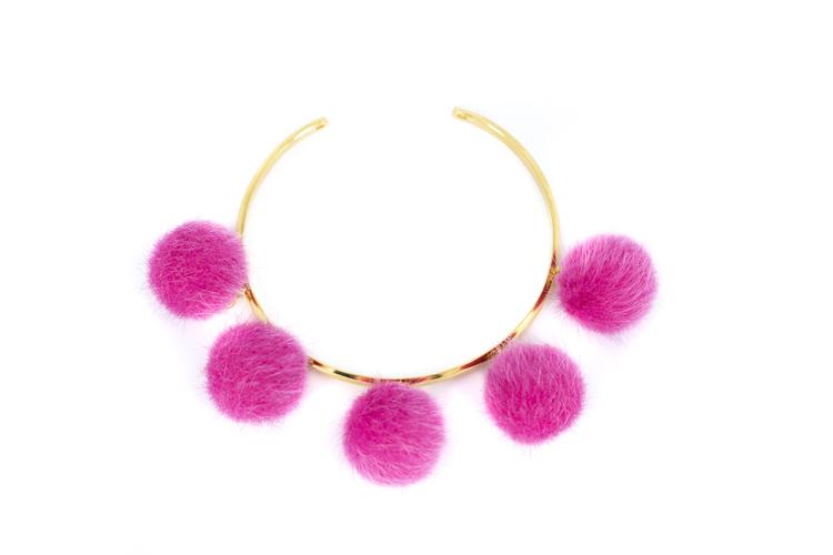 Pompom pink