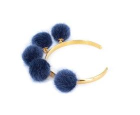 Pompom blue