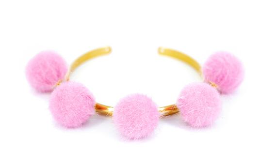 Pompom light pink