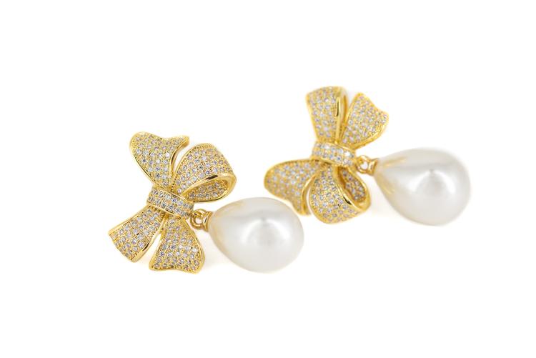BESTSELLER! Stella gold earrings