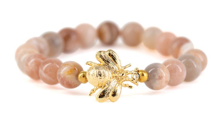 Bee moonstone