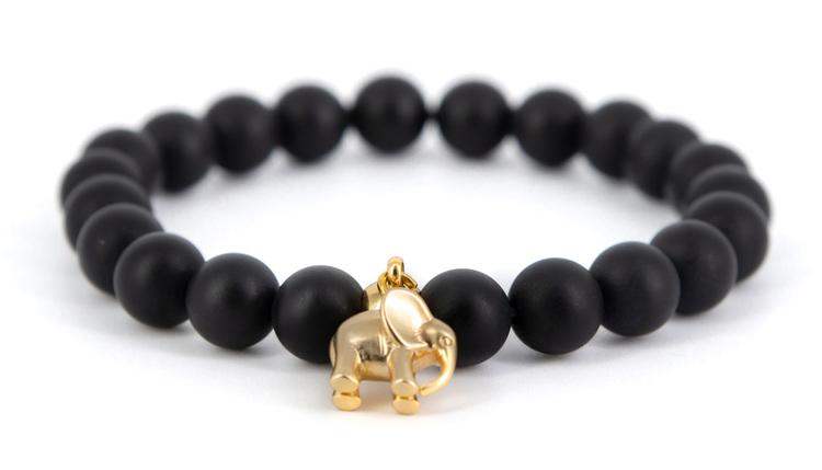 Elephants black