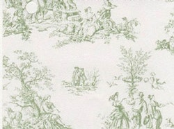 Tapet Green Toile