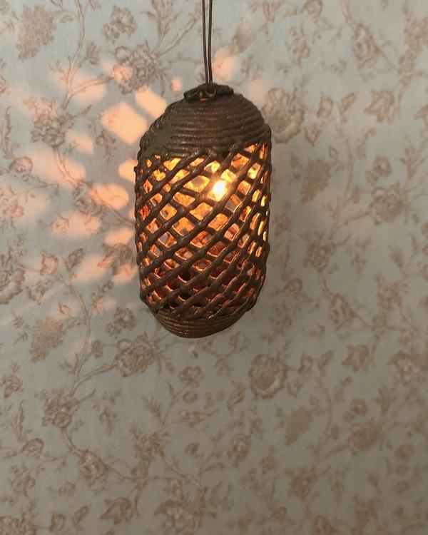 Modern/Marokansk taklampa