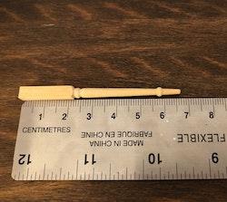 Bordsben 6,7 cm 12 st