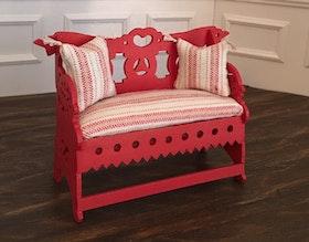 Kakelugns soffa