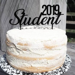 Cake Topper - STUDENT 2019