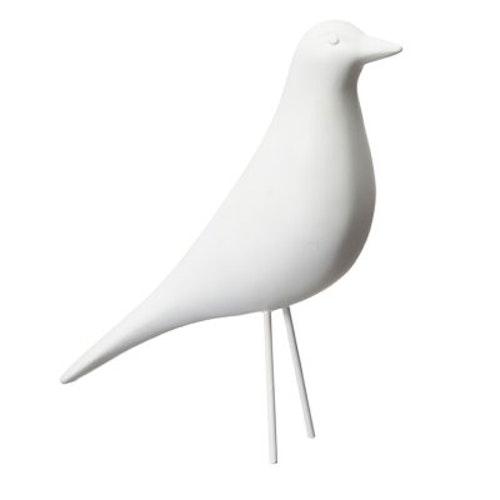 Fågel Vit STOR