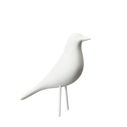 Fågel Vit LITEN