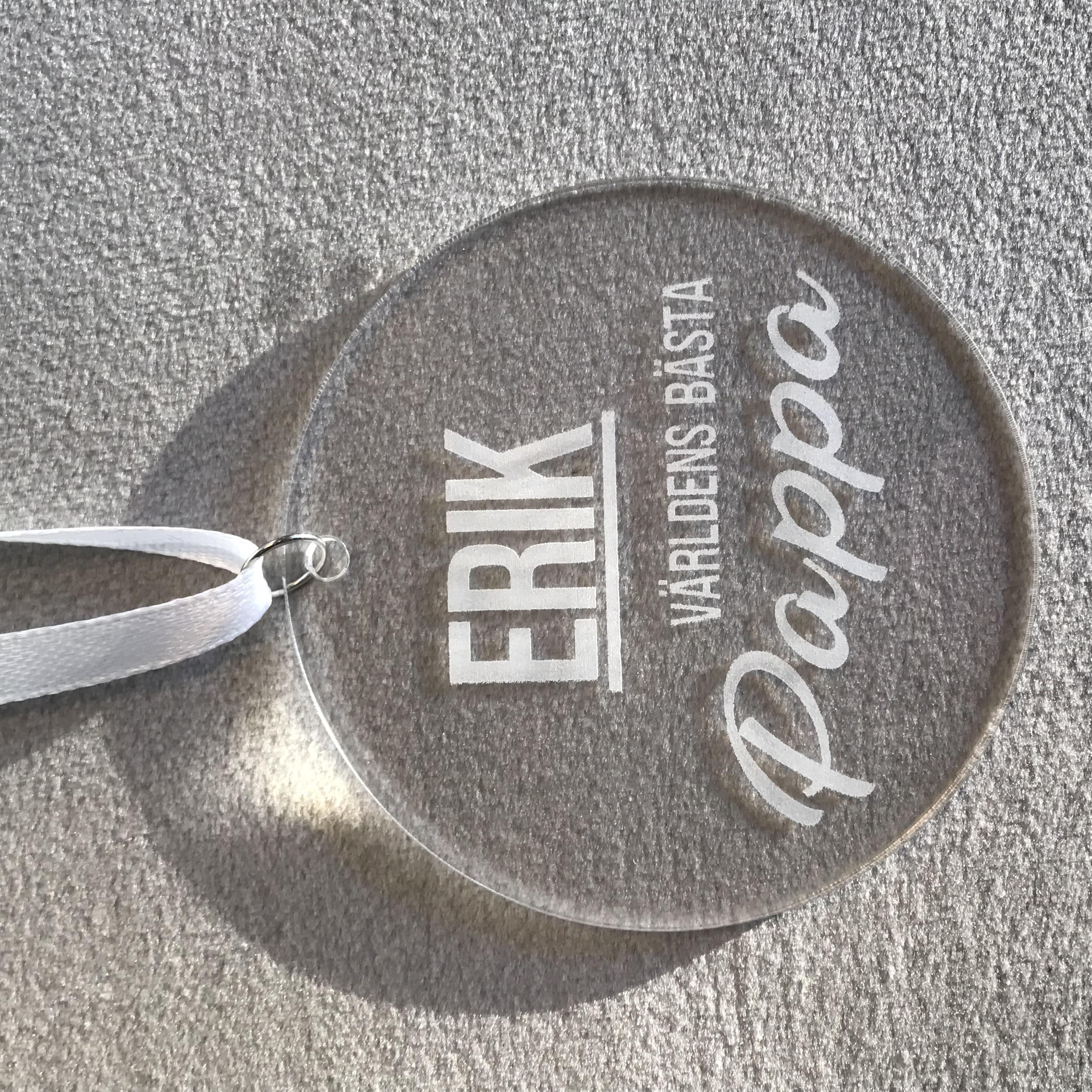 Medalj - Världens Bästa DESIGN BY S.H