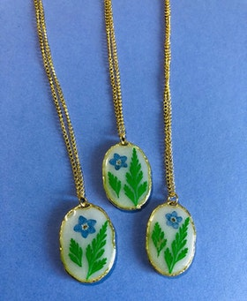 Forget me not & Green