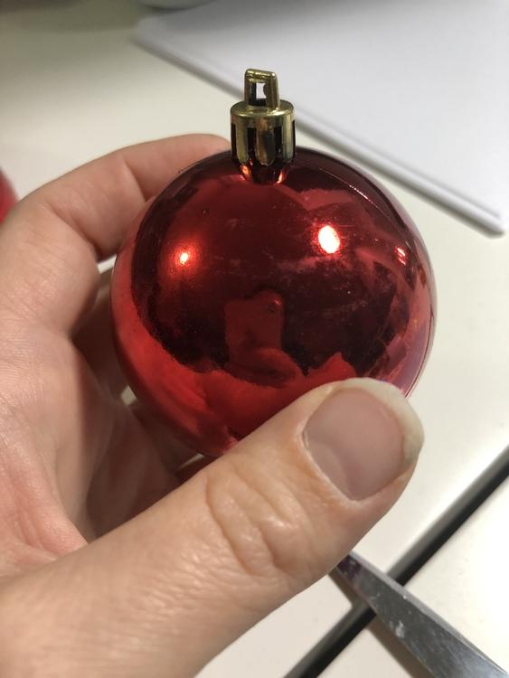"""""""Jingle Bell""""  Julkula med namn - Plast"""