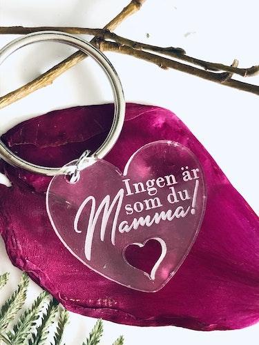 Ingen är som du mamma - hjärta