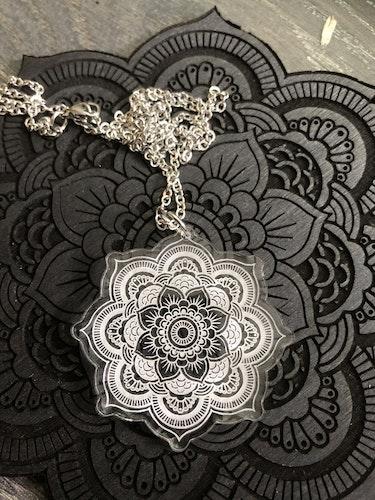 Mandala clear - halsband