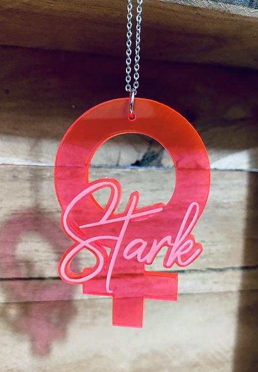 Venus Stark - Pink - Halsband
