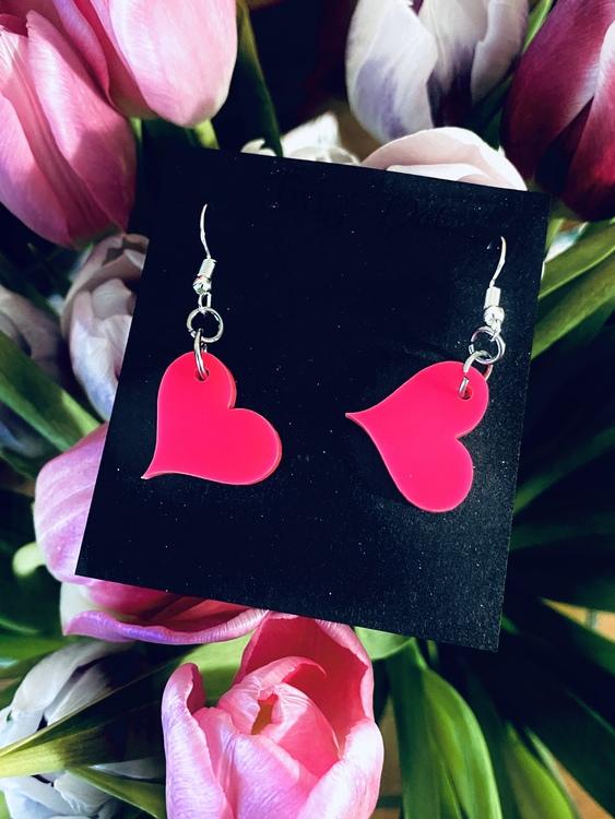 Hot Pink Heart - krokar