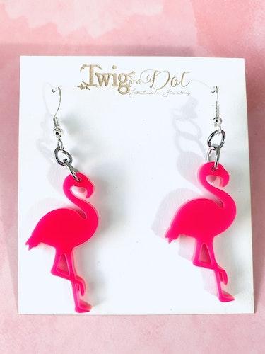 Hot Pink Mini Flamingo - krokar