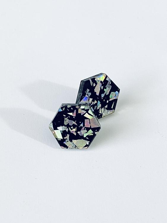 Black Ice Hexagon - stift