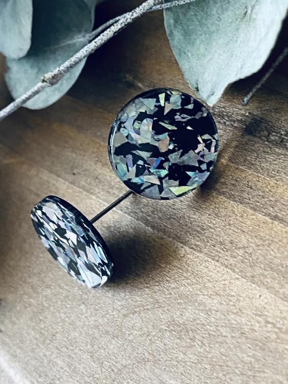 Black Ice Round - stift