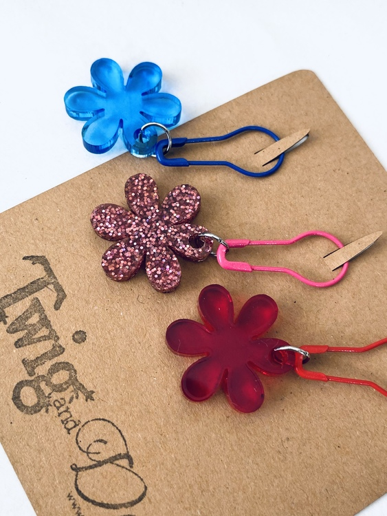 Flower - 3 stickmarkörer