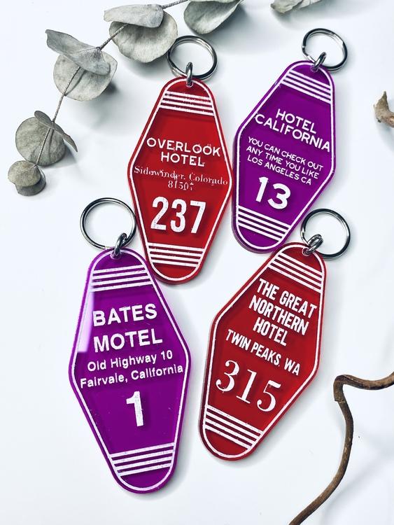 Motel key