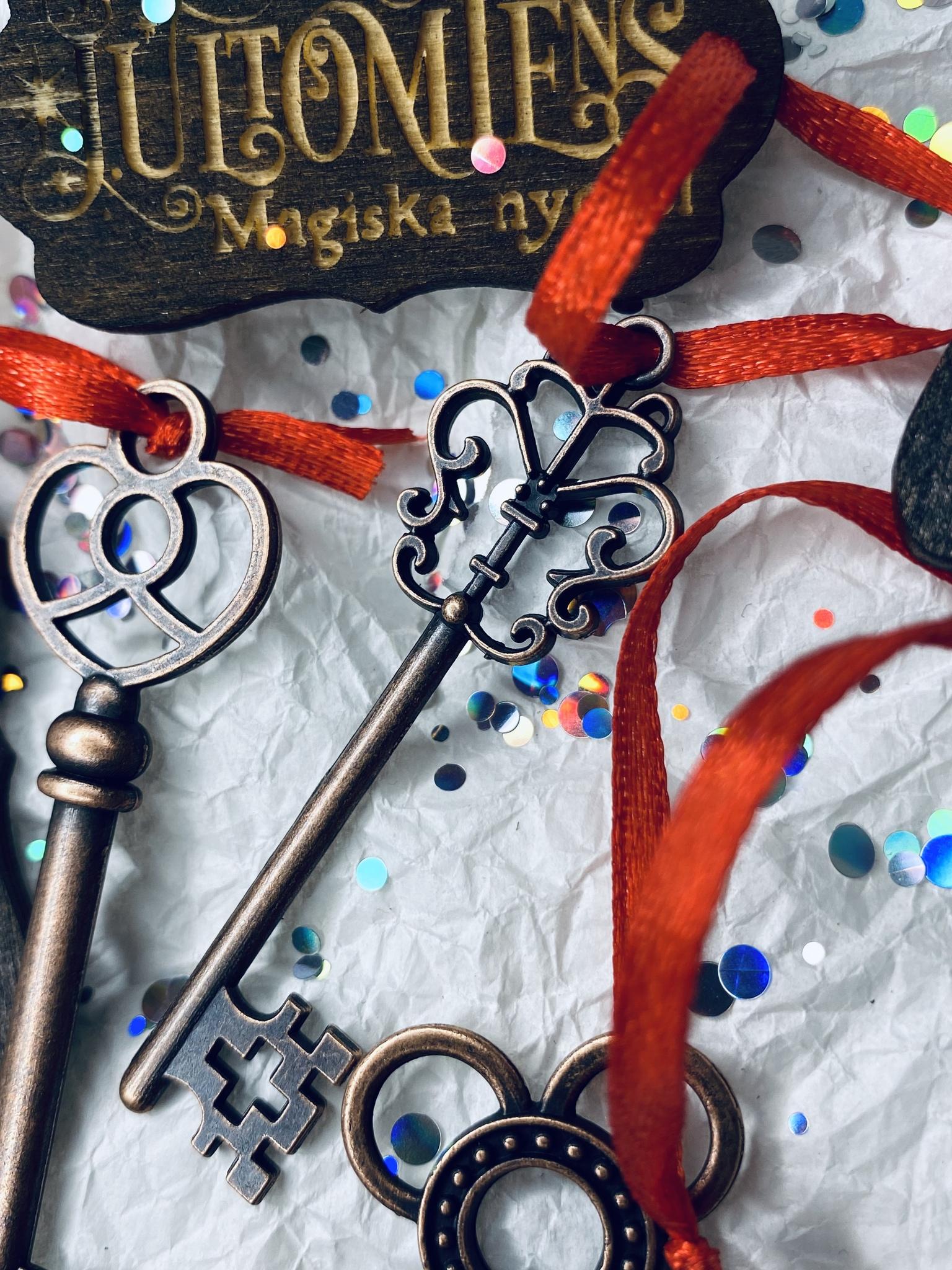 Jultomtens magiska nyckel