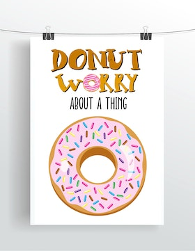 Donut worry about a thing