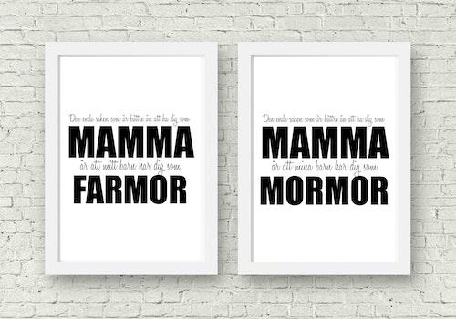 Den enda saken som är.. Mamma - Mormor/Farmor