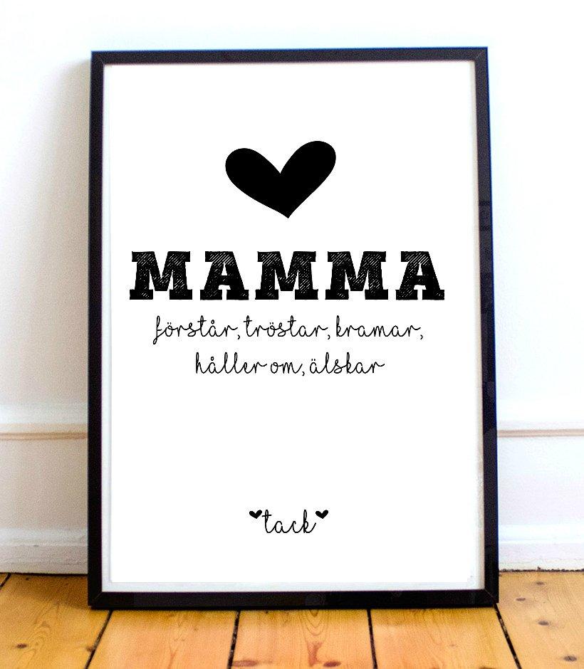 Mamma Förstår, tröstar, kramar