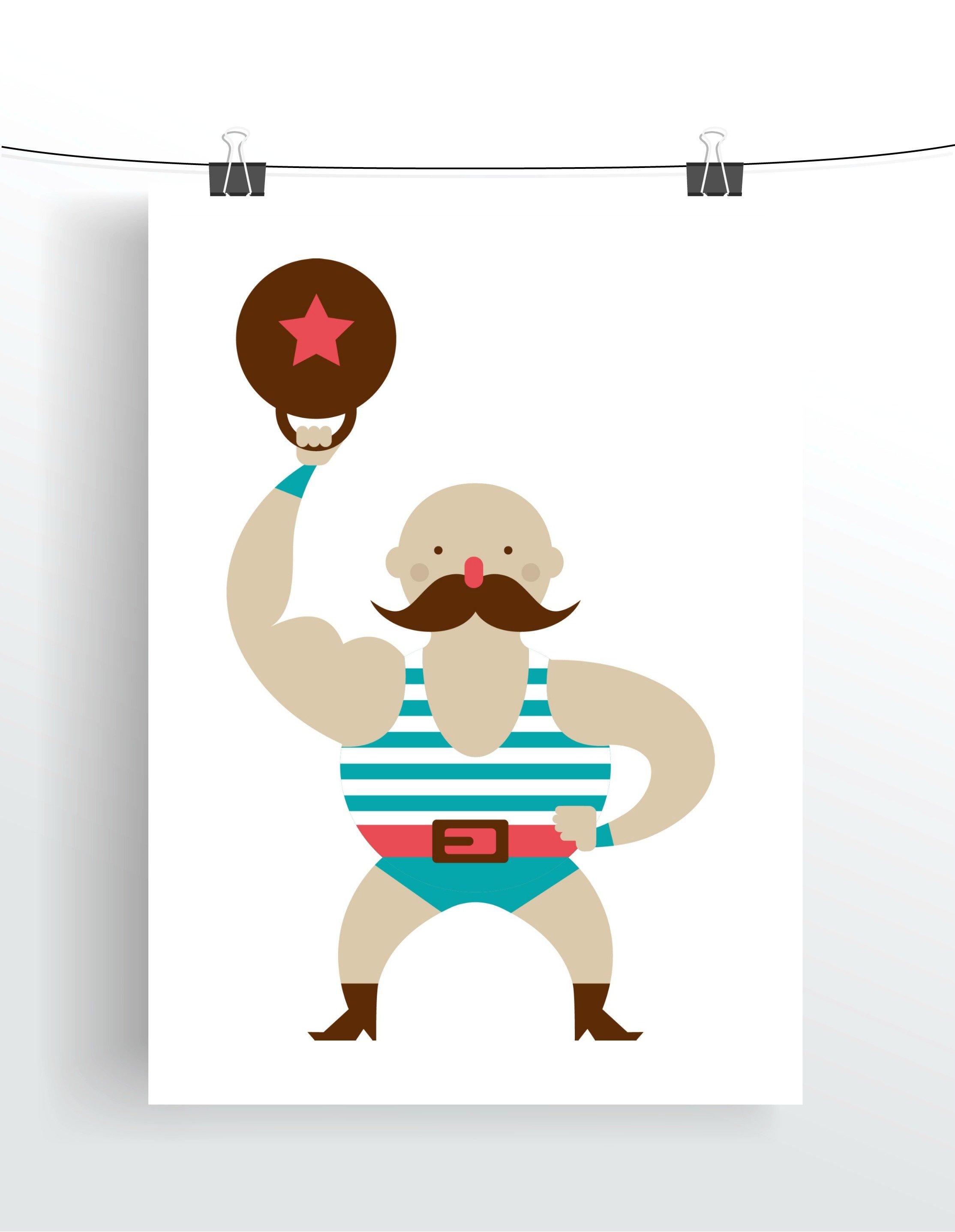 Circus Strong Man