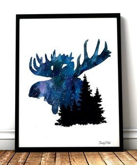 Nightsky, the forest king