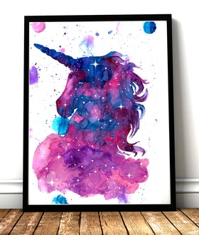 Magic Unicorn Splatter