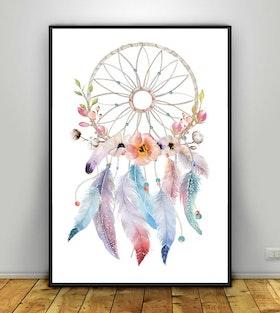 Dreamcatcher flowers & cotton