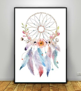 Dreamcatcher flowers & cotton