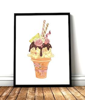 Pink Lemonade Ice Cream