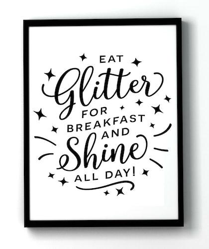Eat glitter