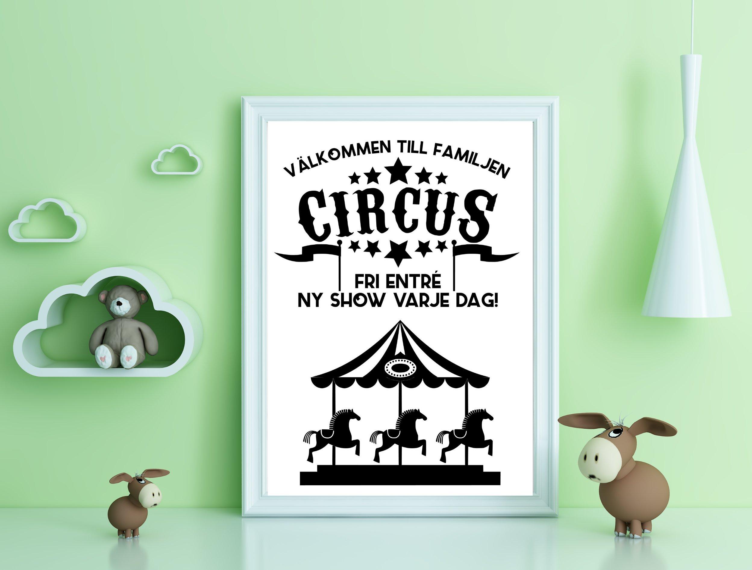 Välkommen till familjen circus - Karusell