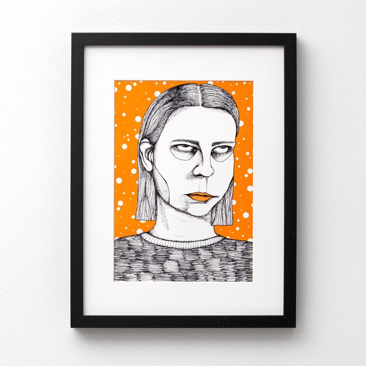 2:A SORTERING Himla med ögonen (poster/print A4)