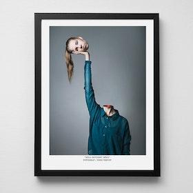 """2:A SORTERING, Konstfoto """"Håll huvudet högt"""""""