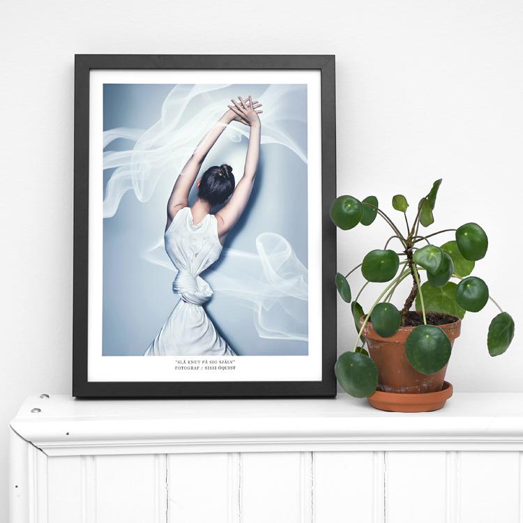 """Fotografi """"SLÅ KNUT PÅ SIG SJÄLV"""" (poster/print 30x40 cm)"""