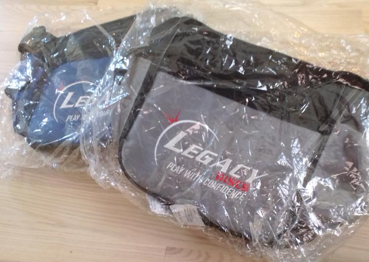 Liten Discgolf-Bag, Legacy Dsics