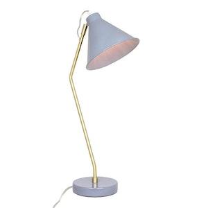 Bordslampa Bertil Blå/Mässing