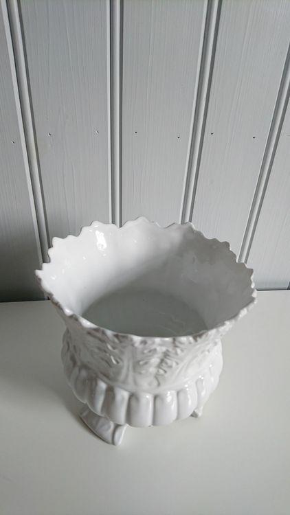 Kruka sirlig vit