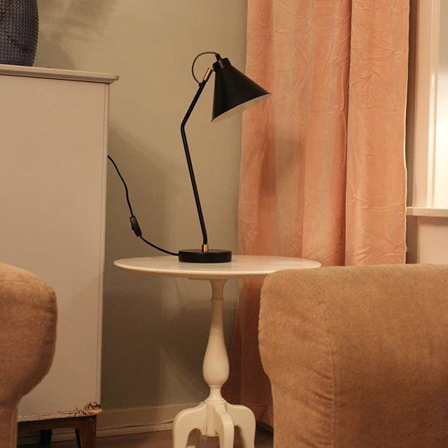Bordslampa Bertil Svart/Mässing