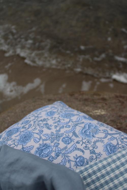 Kuddfodral PIONEE Blå
