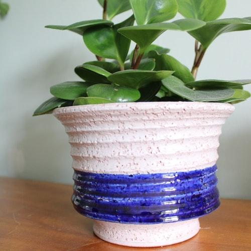 Kruka Steninge blå
