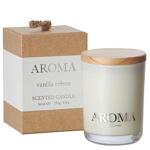 AROMA Doftljus M Krämig vanilj